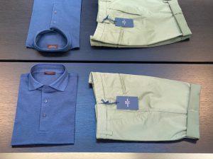 stijlvolle shorts en polo's