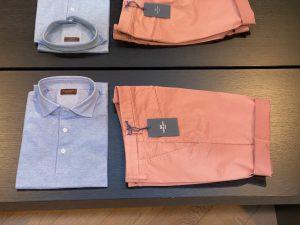 combinatie stijlvolle shorts en polo's